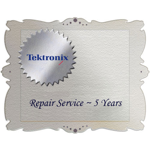 Tektronix R5DW Product Warranty and Repair Coverage for WFM5000