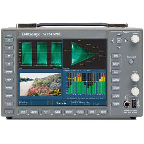 Tektronix WFM5200 Waveform Monitor