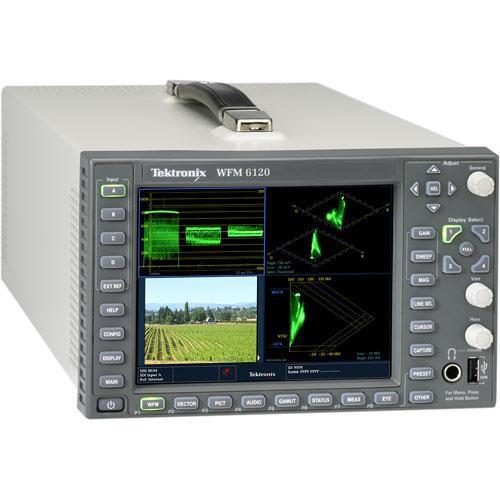 Tektronix WFM6120 Multi-Standard Multi-Format Waveform Monitor