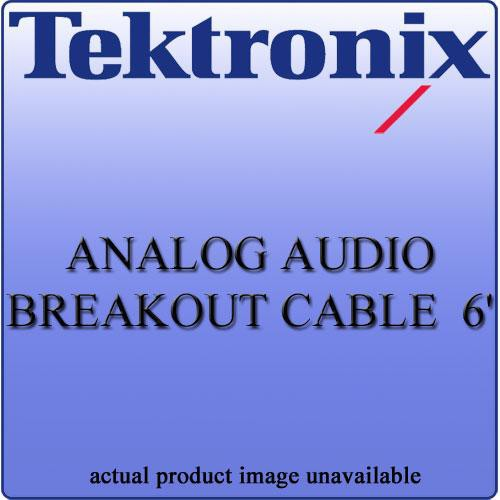 Tektronix WFM702062 Analog Audio Breakout Cable