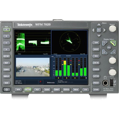 Tektronix WFM7020 Multi-Standard Multi-Format Waveform Monitor