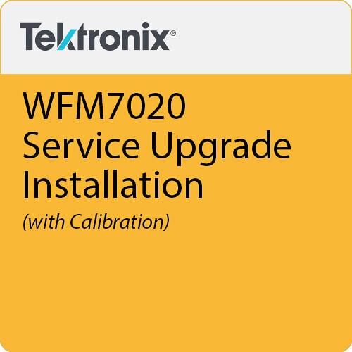 Tektronix WFM7020 Upgrade Installation & Calibration