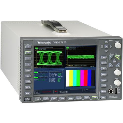 Tektronix WFM7120 Multi-Standard Multi-Format Waveform Monitor
