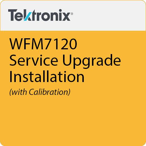 Tektronix WFM7120 Upgrade Installation & Calibration