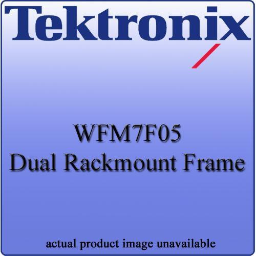 Tektronix WFM7F05 Dual Rackmount Frame