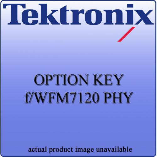 Tektronix PHY Option for WFMX20VS
