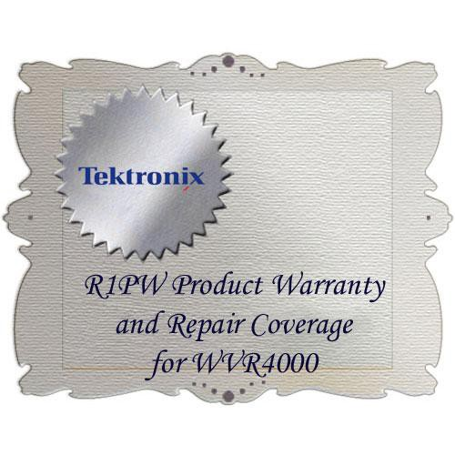 Tektronix R1PW Product Warranty and Repair Coverage for WVR4000