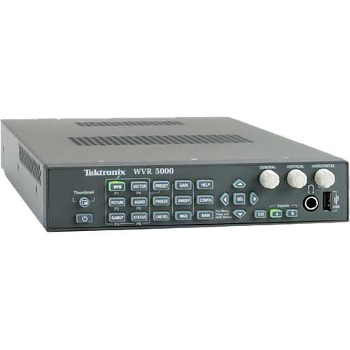 Tektronix WVR5000 Multi-Standard Multi-Format Waveform Rasterizer
