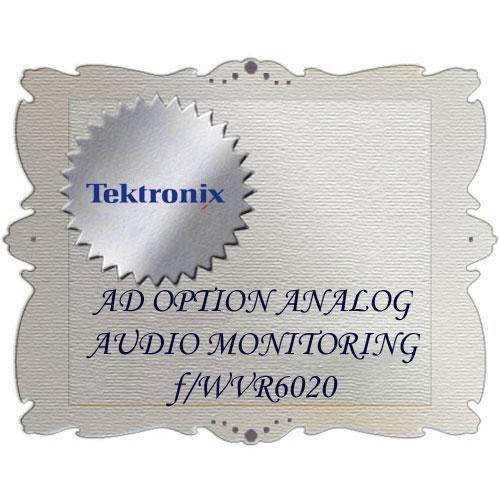 Tektronix AD Option for WVR6020