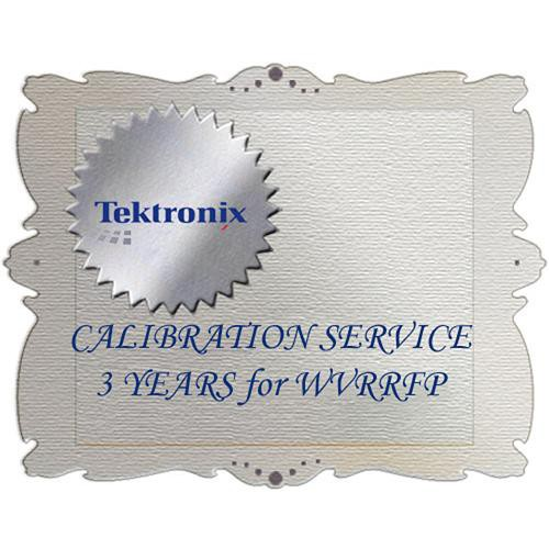 Tektronix C3 Calibration Service for WVRRFP