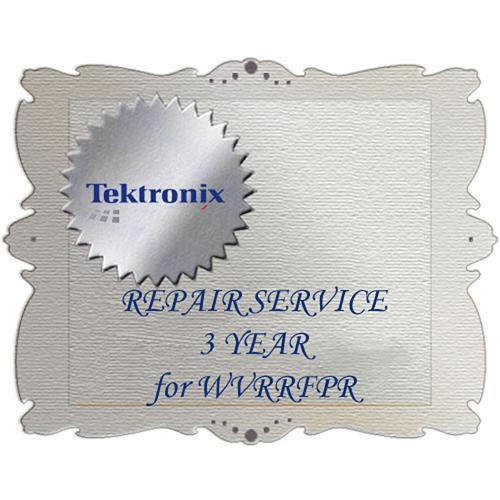 Tektronix R3DW Product Warranty and Repair Coverage for WVRRFP