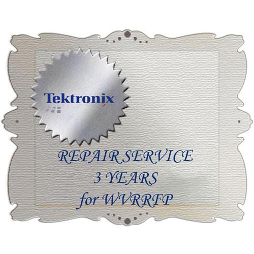 Tektronix R3 Product Warranty and Repair Coverage for WVRRFP