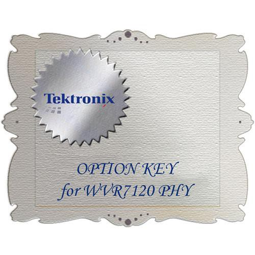 Tektronix PHY Option for WVRX20VS