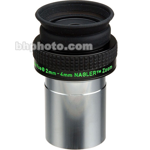 "Tele Vue Nagler Zoom 2-4mm Eyepiece (1.25"")"