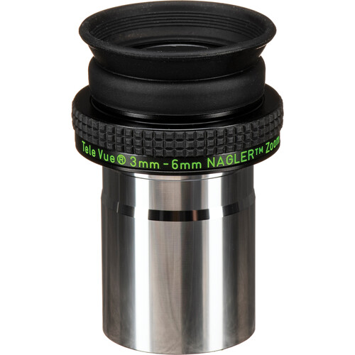 "Tele Vue Nagler Zoom 3-6mm Eyepiece (1.25"")"