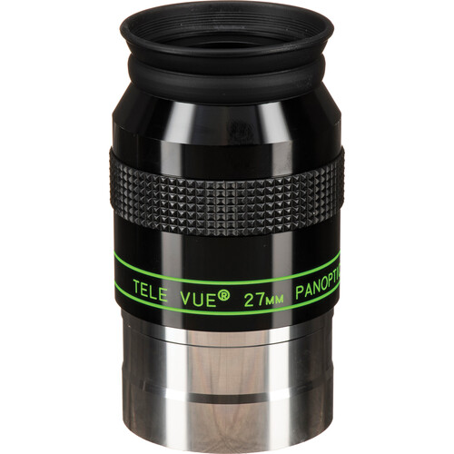 "Tele Vue Panoptic 27mm Wide Angle Eyepiece (2"")"
