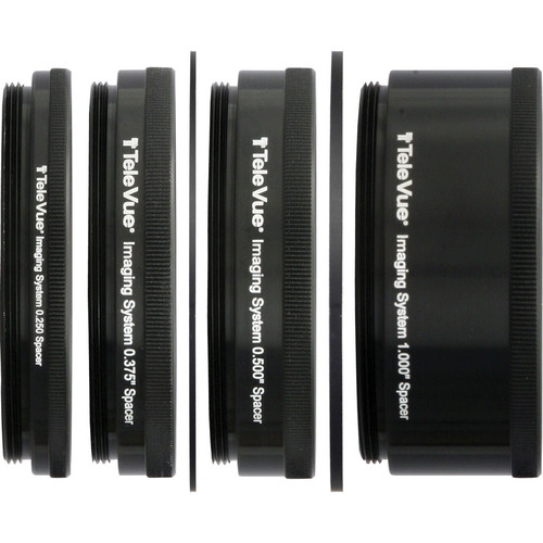 """Tele Vue 6-Piece Accessory Tube Set for 2.4"""" Imaging Systems"""