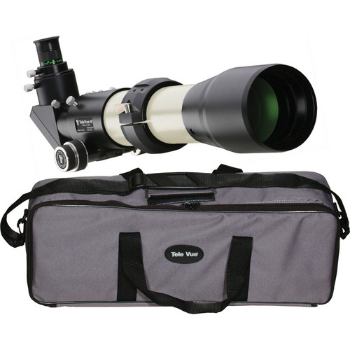 "Tele Vue Tele Vue-85 3.35""/85mm Refractor Telescope (Ivory)"