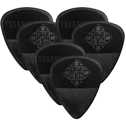 Telefunken Diamond Grip 1mm Delrin Guitar Picks (6-Pack)