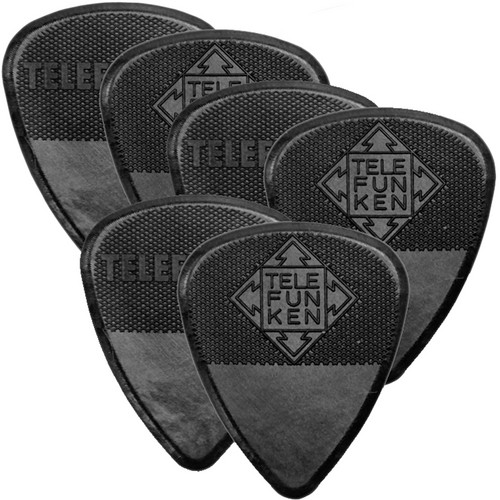 Telefunken Diamond Grip 2mm Delrin Guitar Picks (6-Pack)