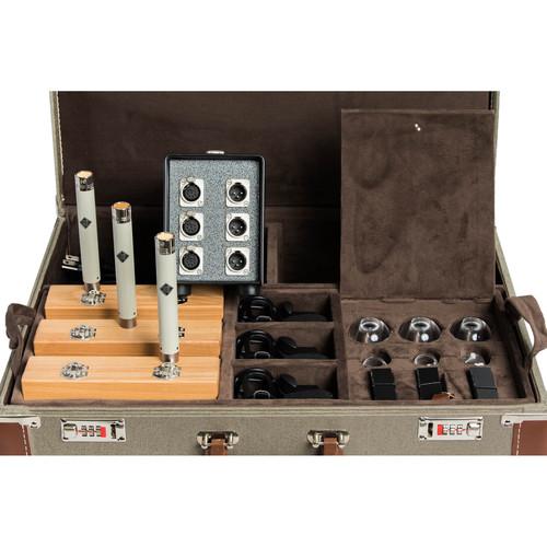 Telefunken ELA M 260 Small-Diaphragm Tube Microphone Tri-Mono Set
