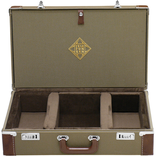 Telefunken Combination Locking Flight Case for an ELA M 250/251 Stereo Set