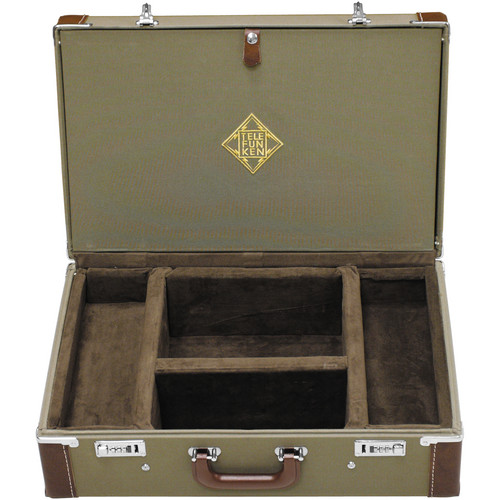 Telefunken Combination Locking Flight Case for an ELA M 260 Stereo Set