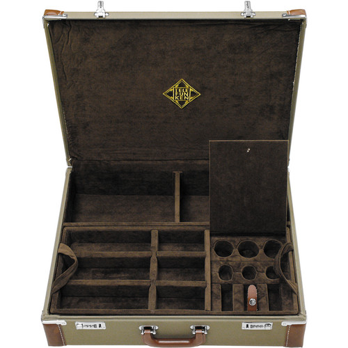 Telefunken Combination Locking Flight Case for an ELA M 260 Tri-Mono Set