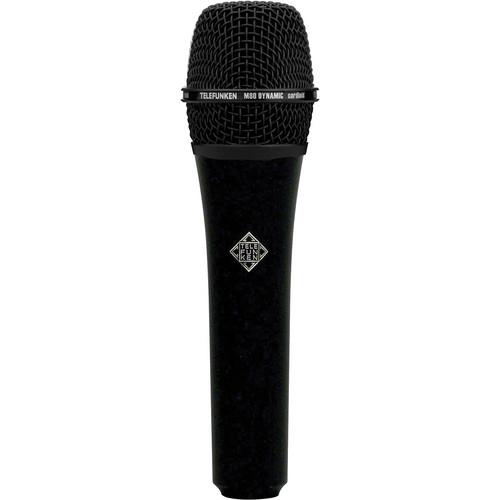 Telefunken M80 Custom Handheld Supercardioid Dynamic Microphone (Black Body, Black Grille)