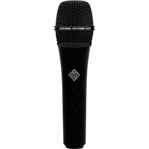 Telefunken M80 Custom Dynamic Handheld Microphone (Black)
