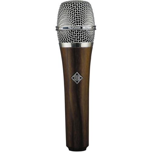 Telefunken M80 Custom Handheld Supercardioid Dynamic Microphone (Cherry Body, Chrome Grille)