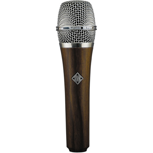 Telefunken M80 Custom Handheld Supercardioid Dynamic Microphone (Cherry Body, Chrome Grille)