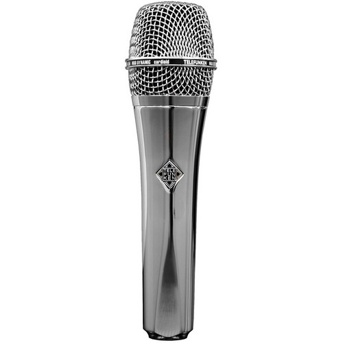 Telefunken M80 Custom Dynamic Handheld Microphone (Chrome)