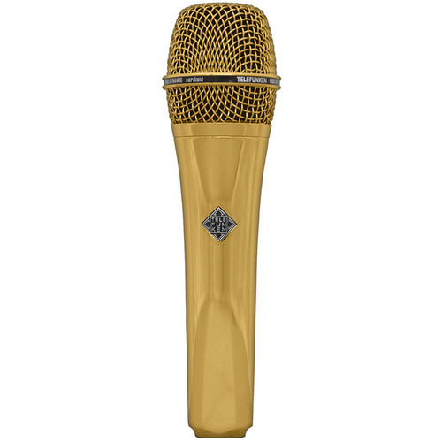 Telefunken M80 Custom Dynamic Handheld Microphone (Gold)