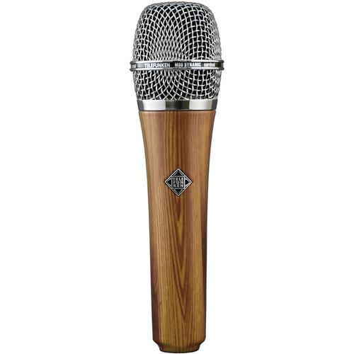 Telefunken M80 Custom Handheld Supercardioid Dynamic Microphone (Oak Body, Chrome Grille)