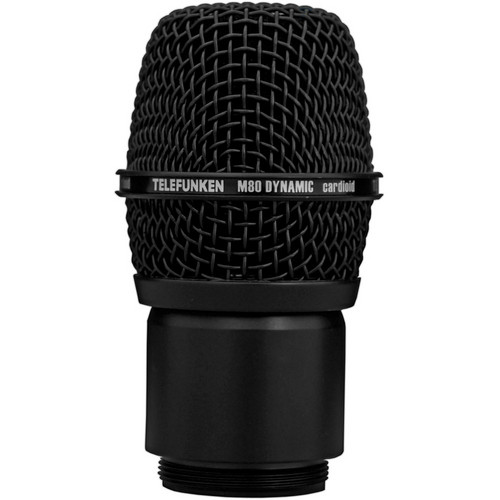 Telefunken M80-WH Wireless Supercardioid Dynamic Microphone Capsule (Black)
