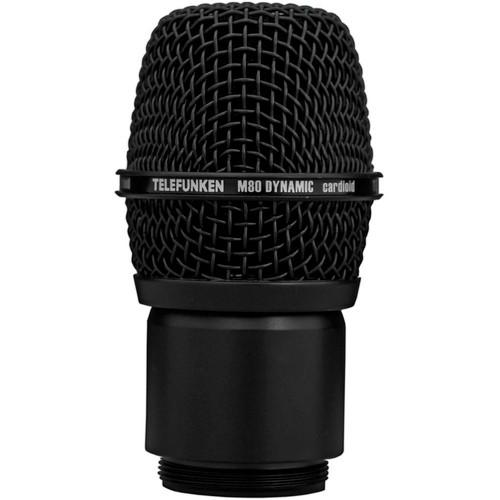 Telefunken M80 Wireless Dynamic Microphone Capsule (Black)
