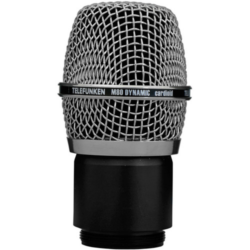 Telefunken M80 Wireless Dynamic Microphone Capsule (Chrome)