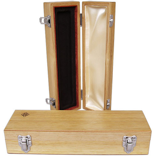 Telefunken WB10 Oak Microphone Box With Diamond Logo