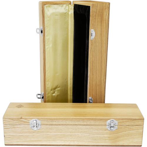 Telefunken WB70 Oak Microphone Box With Diamond Logo