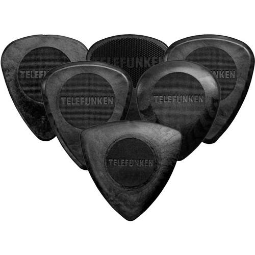 Telefunken Delrin Pick Variety Pack (6-Pack)