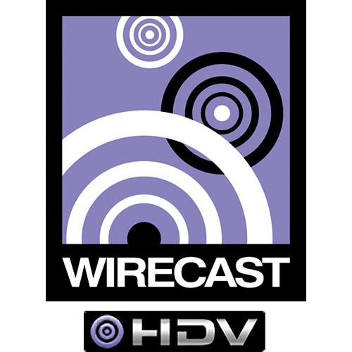 Telestream Wirecast 4 HDV Option for Mac