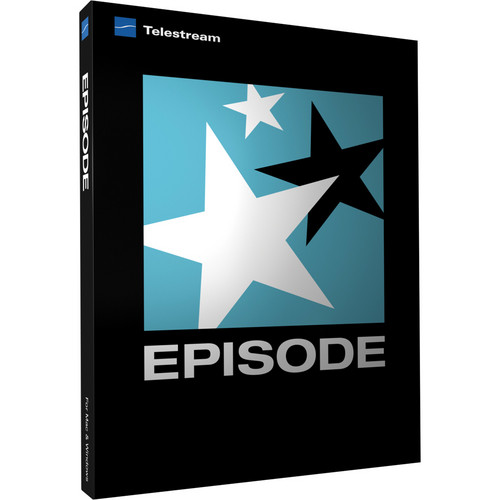 Telestream Episode 6 for Windows (Upgrade from Episode 5)