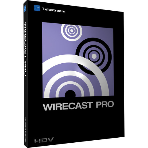 Telestream Wirecast Pro 4 for Mac (Upgrade from Wirecast 4)