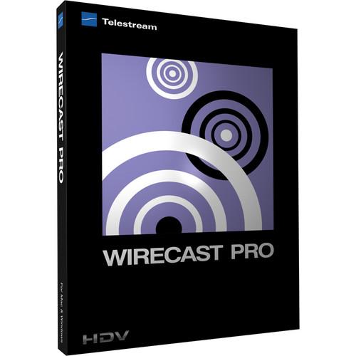 Telestream Wirecast Pro 4 for Mac (Upgrade from Wirecast 4)