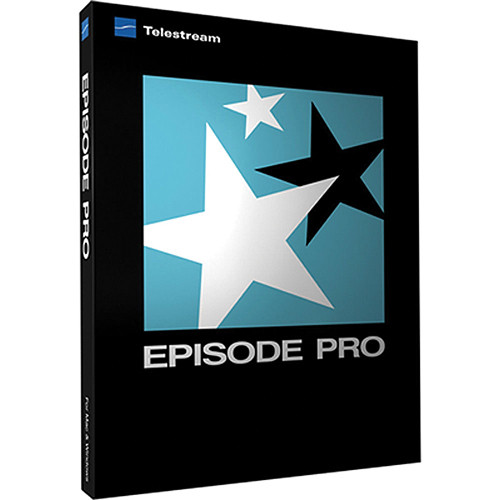Telestream Episode Pro 6 for Mac (Electronic Download)