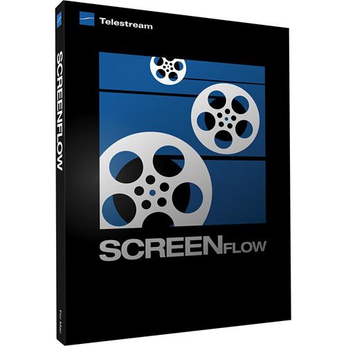 Telestream ScreenFlow 3 Software for Mac