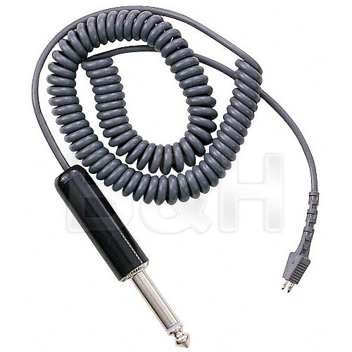 """Telex CCT-2 -  Coiled Telethin Cable with 1/4"""" Connector - 5'"""