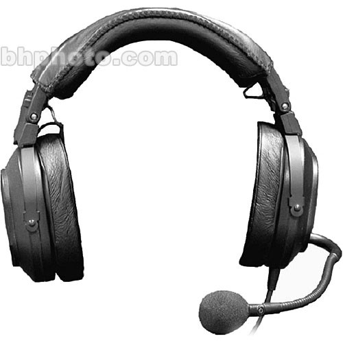 Telex HR-2- Dual Sided Headset with Boom Mic