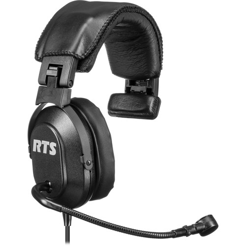 Telex HR-1 - Single Sided Headset with Boom Mic